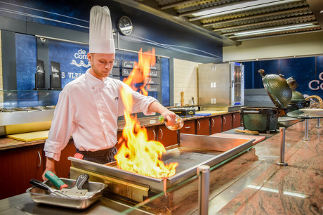 Live cooking restaurant de Combuijs